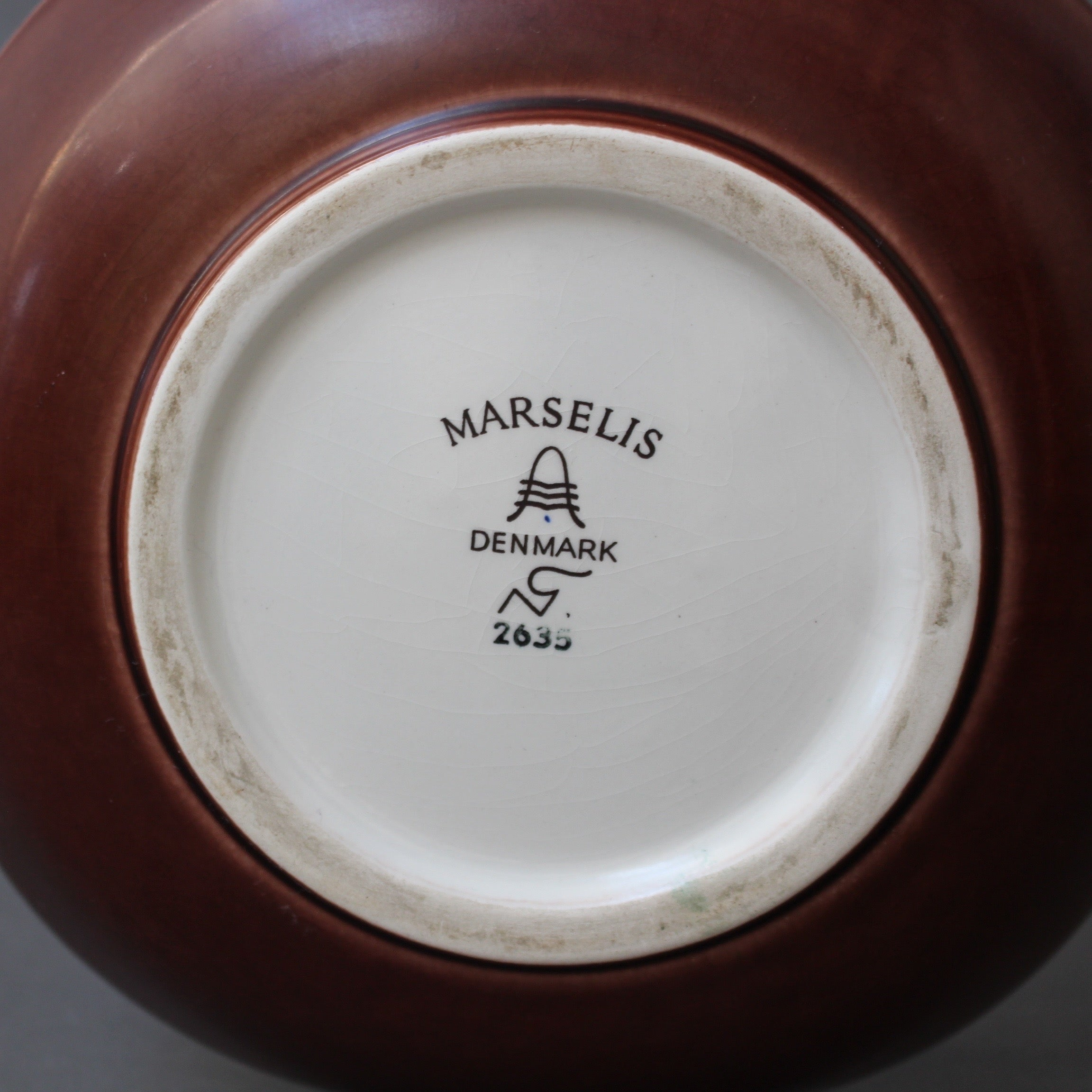 'Marselis' Porcelain Bowl by Nils Thorsson for Aluminia - Royal Copenhagen (Circa 1960s)