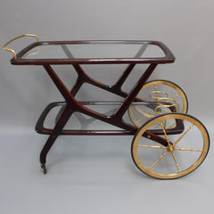 Serving Trolley by Cesare Lacca (c. 1950s)