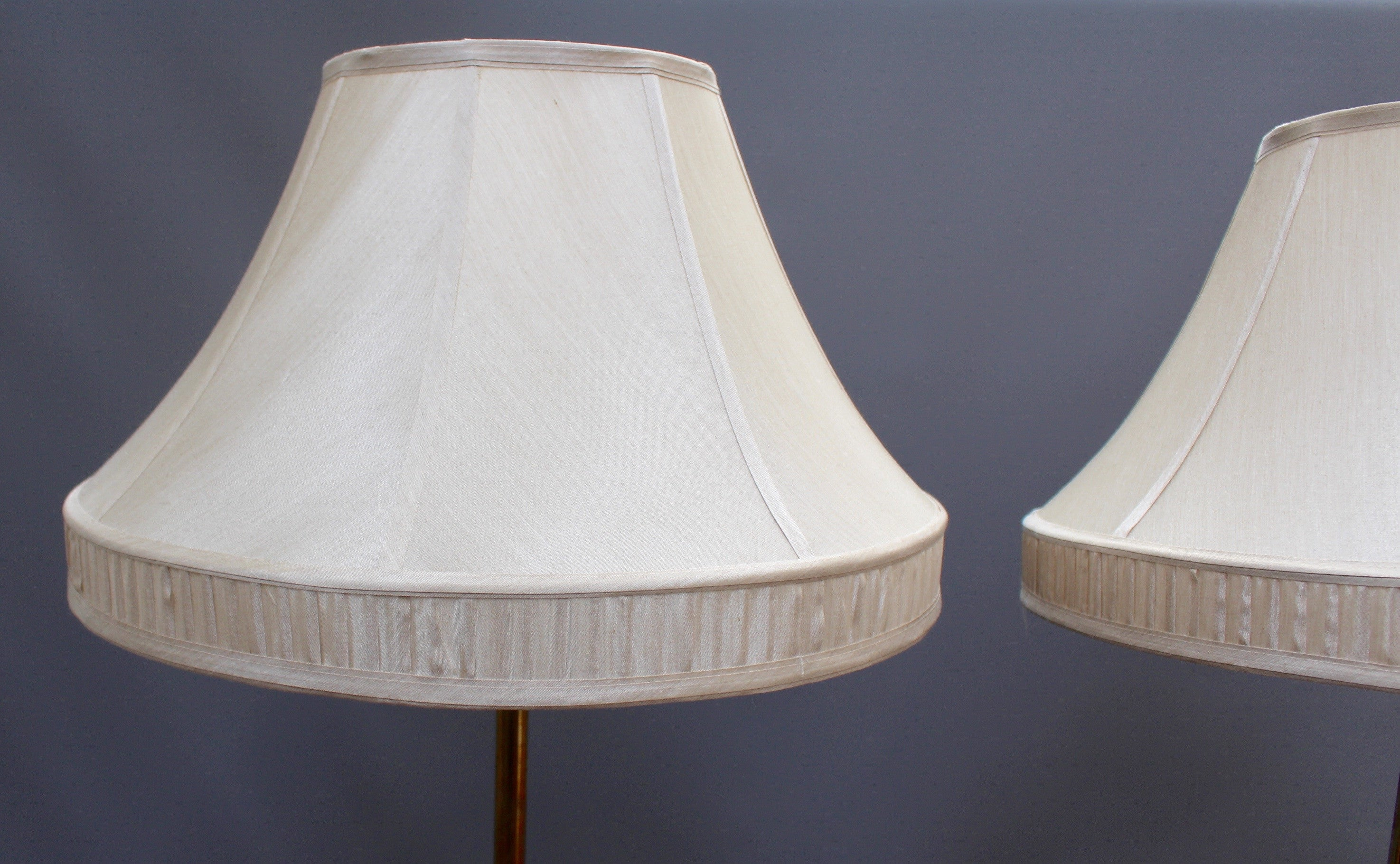 Pair of Standing Adjustable Lamps (c. Early 20th Century)