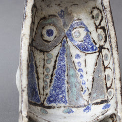 Abstract Ceramic Bird Vide-Poche by Jean Derval (circa 1950s)