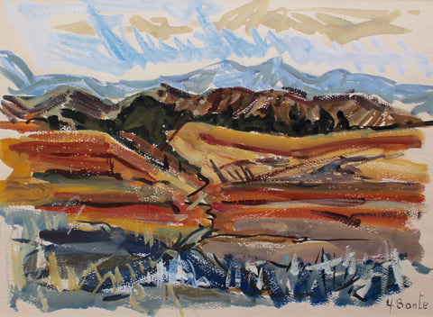 'Autumn in Provence' by Yvette Bonte (c. 1960s)