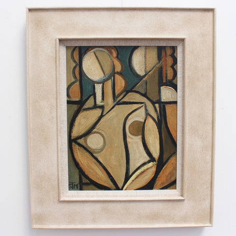 Two Nudes by Window by STM (circa 1950s - 70s)