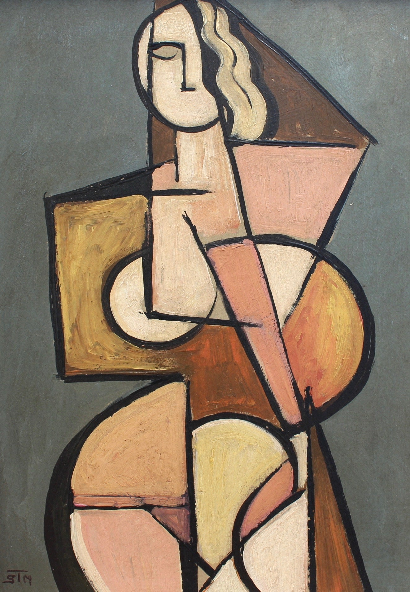 'Classical Nude' by STM (circa 1950s - 1970s)