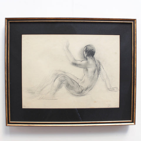 'Study of Male Nude' by Guillaume Dulac (circa 1920s)