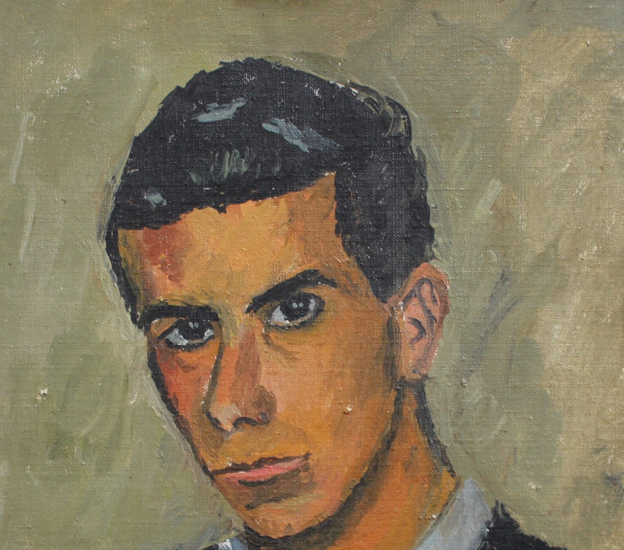 'Portrait of a Young Man' by Unknown Artist (circa 1950s)