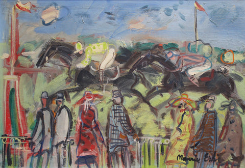 'Deauville Racecourse' by Maurice Empi (circa 1960s)