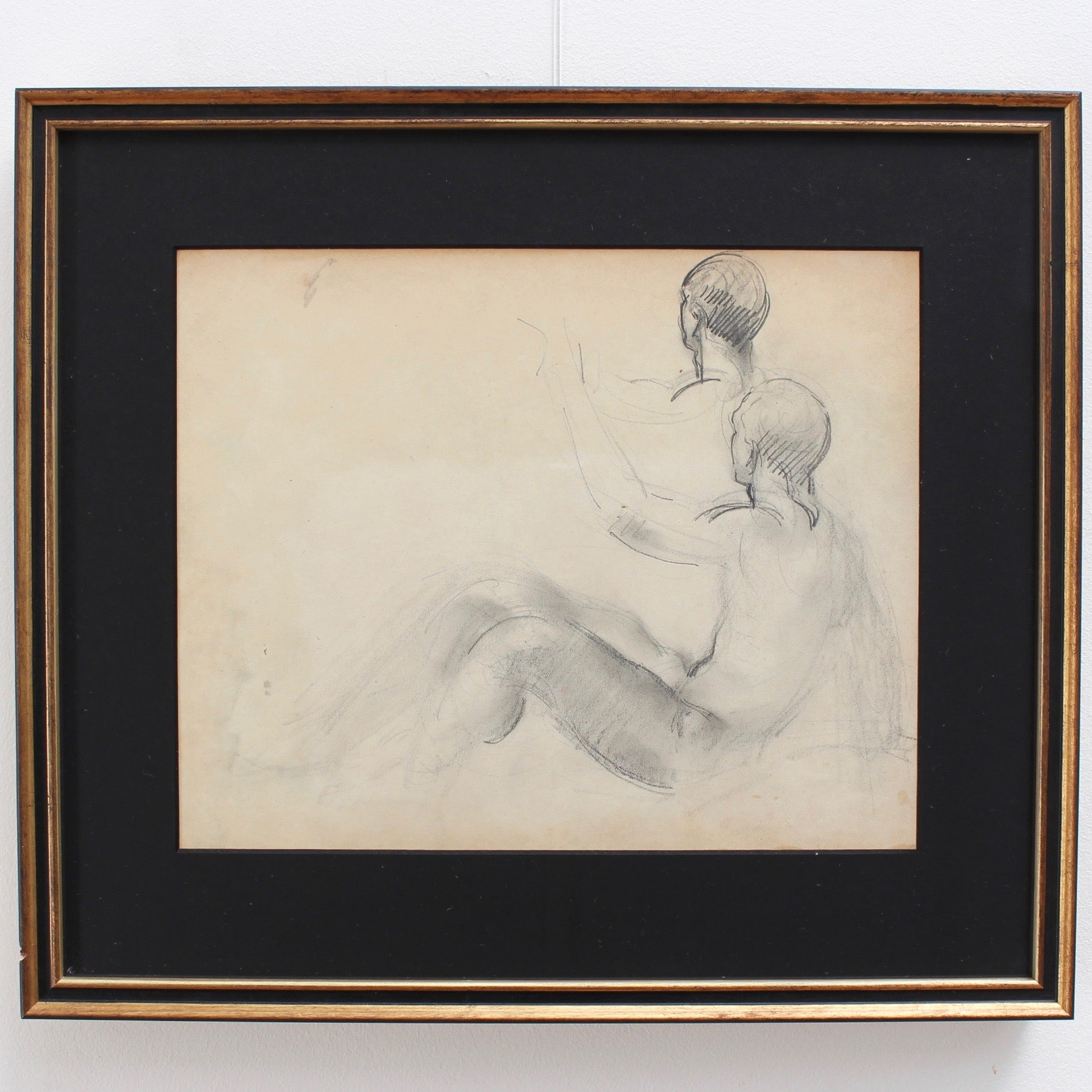 'Posing Nude Male' by Guillaume Dulac (circa 1920s)