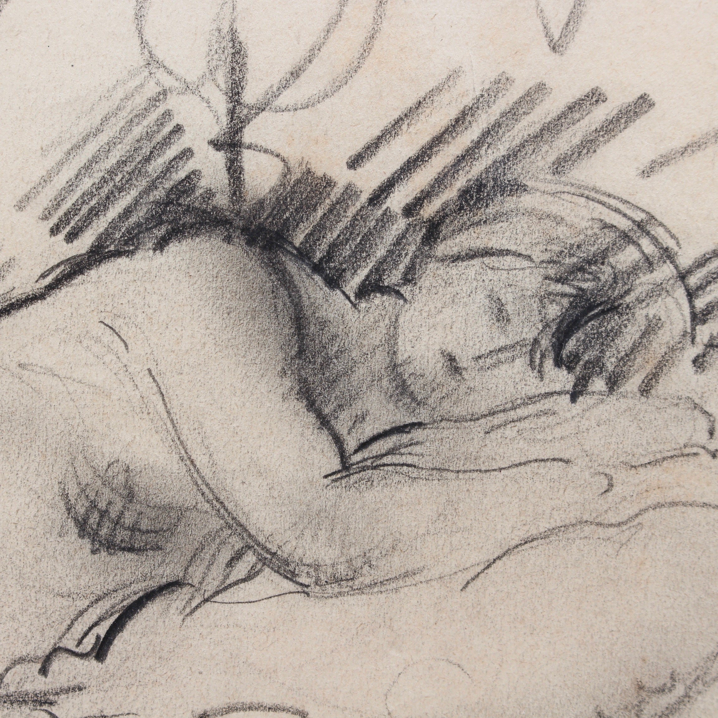 'Reclining Nude' by Guillaume Dulac (circa 1920s)