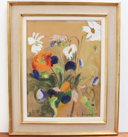 'Bouquet of Flowers' by Pascal Ambrogiani (1960)