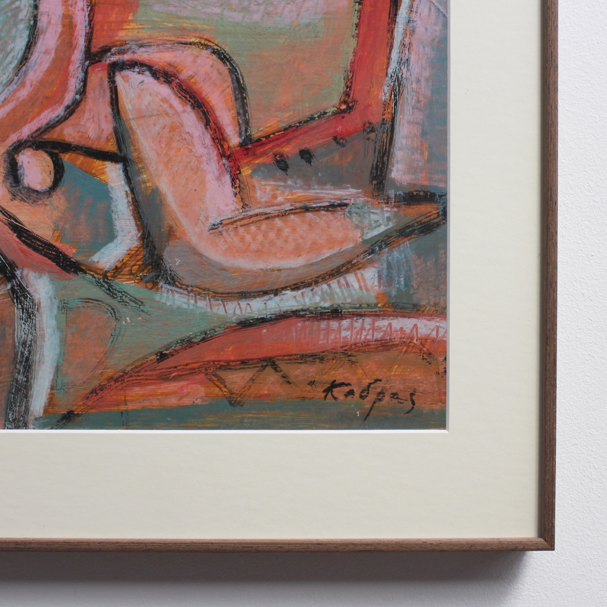 'Reclining Woman in Abstract' by Yiannis Kadras (circa 2000)