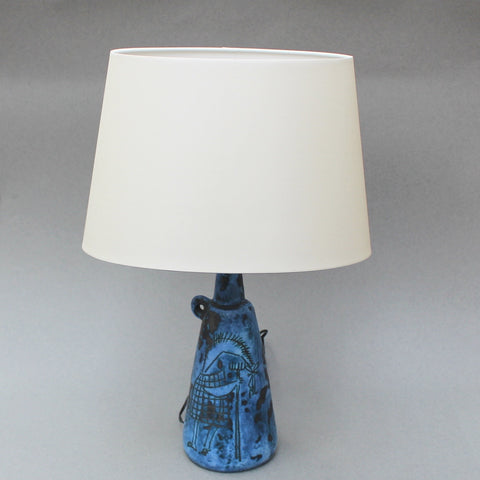 Ceramic Table Lamp by Jacques Blin (c. 1950s)