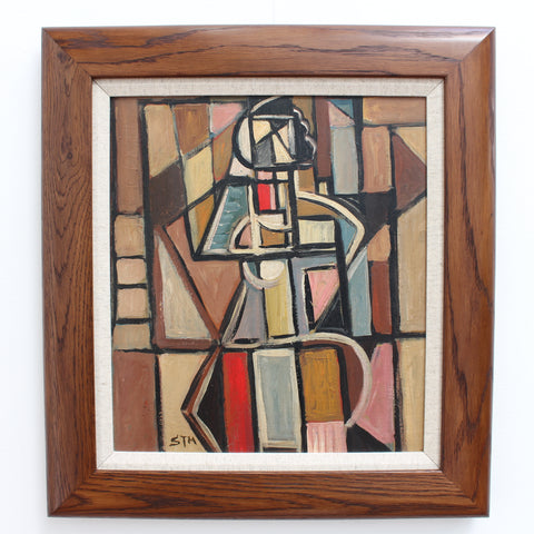 Cubist Figure 1 by STM (circa 1960s - 70s)