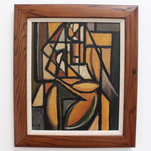 Cubist Figure 2 by STM (circa 1960s - 70s)