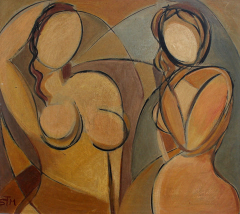'Posing Nudes' by STM (circa 1940s)