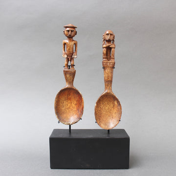 Pair of Ritual Spoons from Timor Island (circa 1950s)
