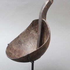 Ritual Ladle of Wood and Coconut Shell from Timor Island, Indonesia (circa 1950s)