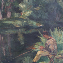 'The Fisherman' by Charles Kvapil (c. 1930s)