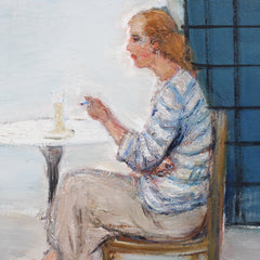 'Woman Alone with Her Thoughts' by Gaetano Bocchetti (circa 1960s)
