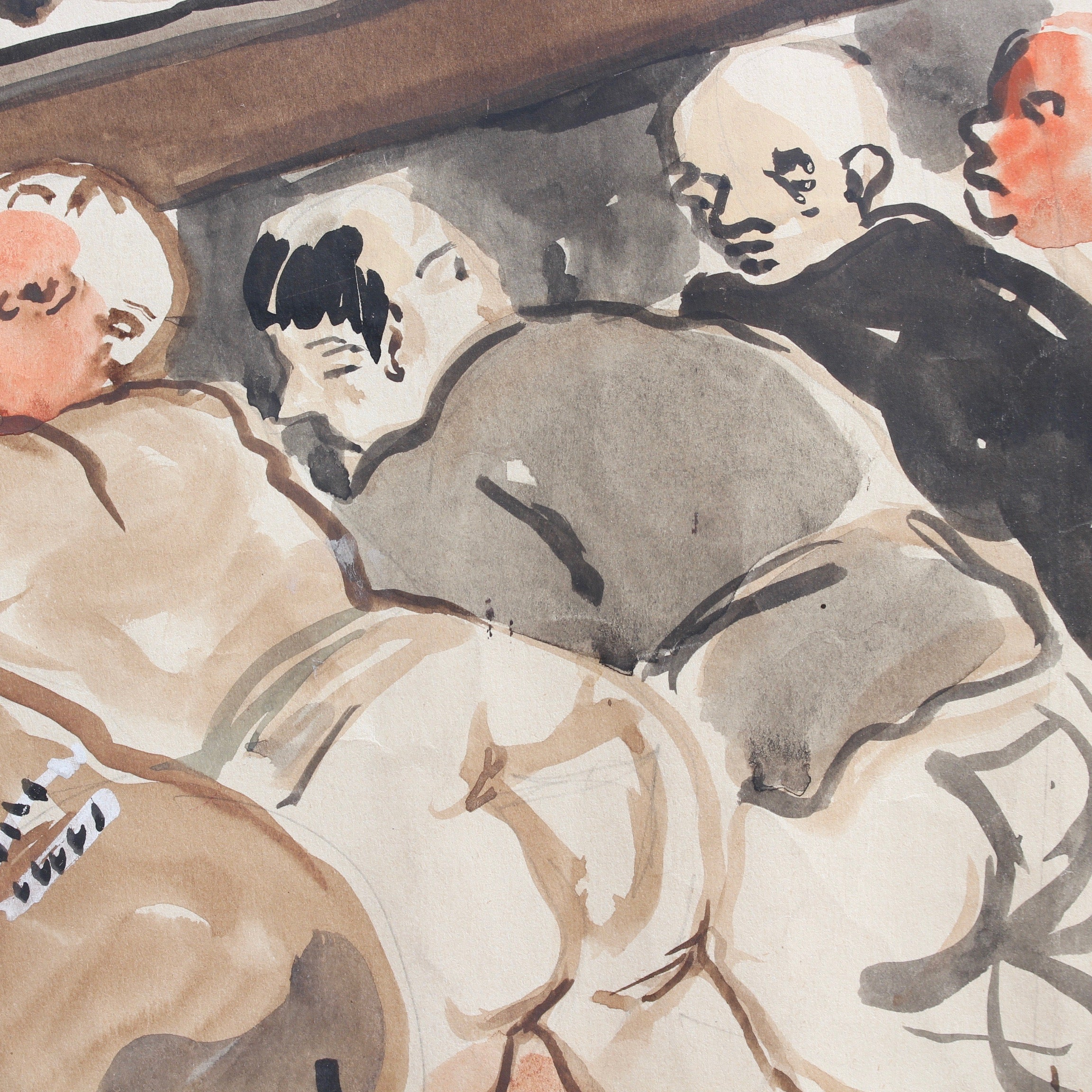 'The Repast of the Monks' by Yves Brayer (1946)
