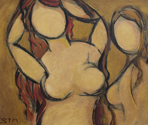 'Posing Nudes' by STM (circa 1940s - 1960s)