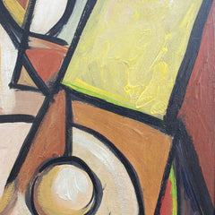 'Standing Cubist Nude' by STM (circa 1950s-70s)