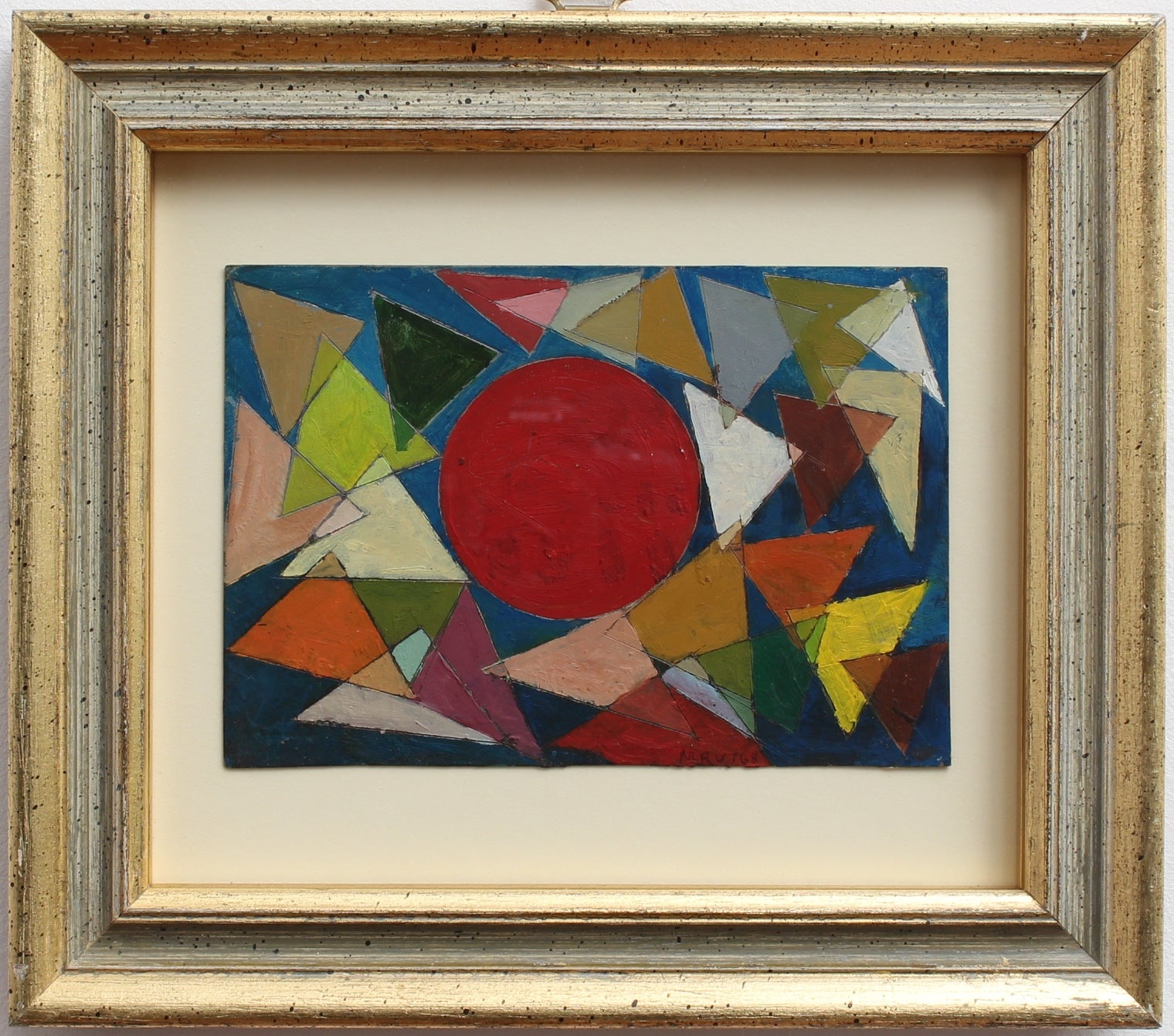 'Universe of Triangles' by Unknown Artist (c. 1950s)