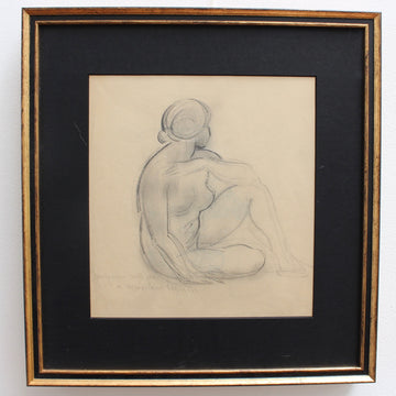 'Posing Nude' by Guillaume Dulac (circa 1920s)