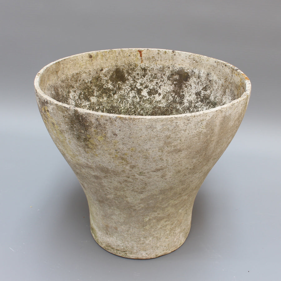 Goblet-Shaped Planter Attributed to Willy Guhl for Eternit (circa 1960s)