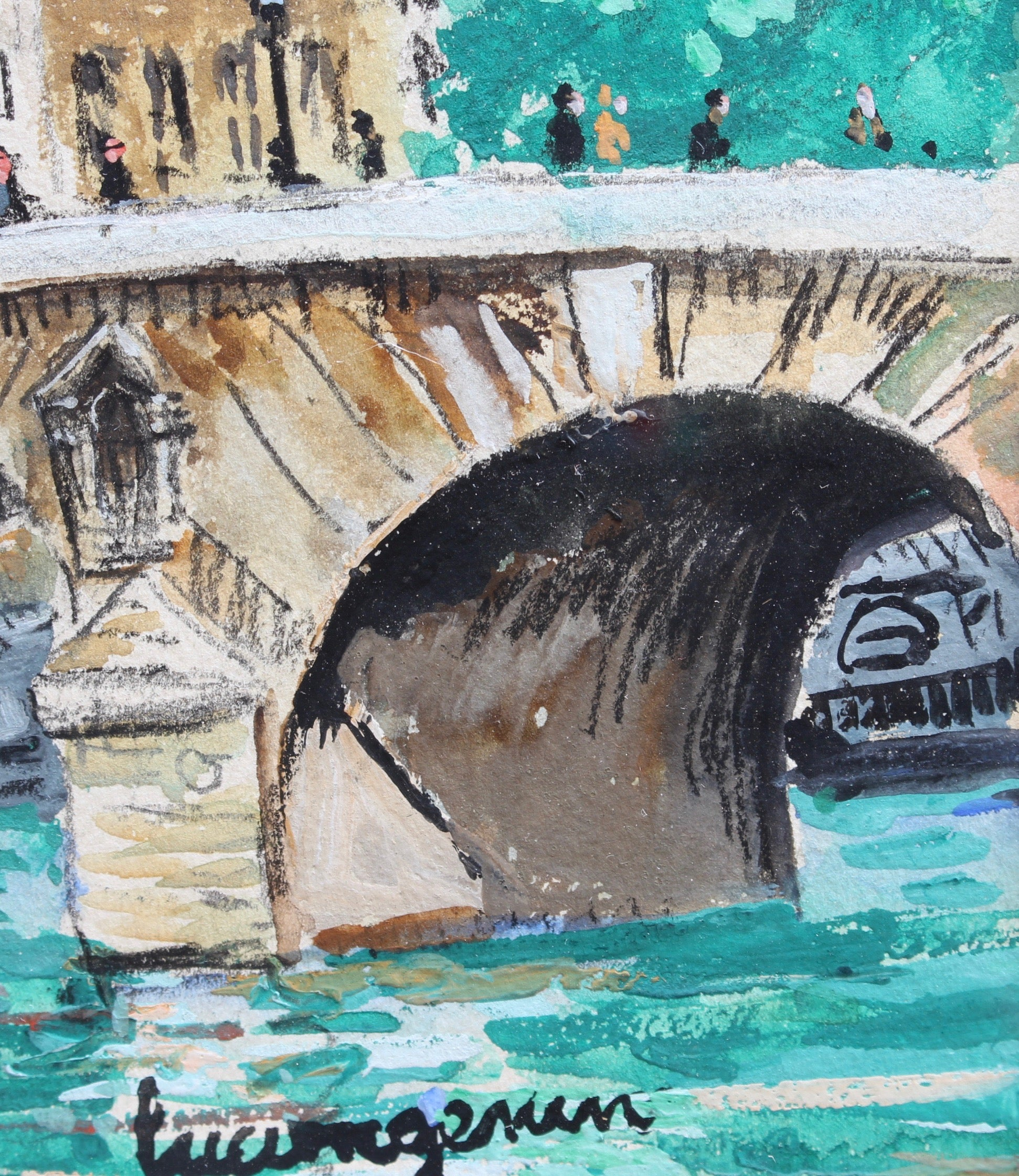 'Le Pont Neuf' by Lucien Genin (circa 1930s)
