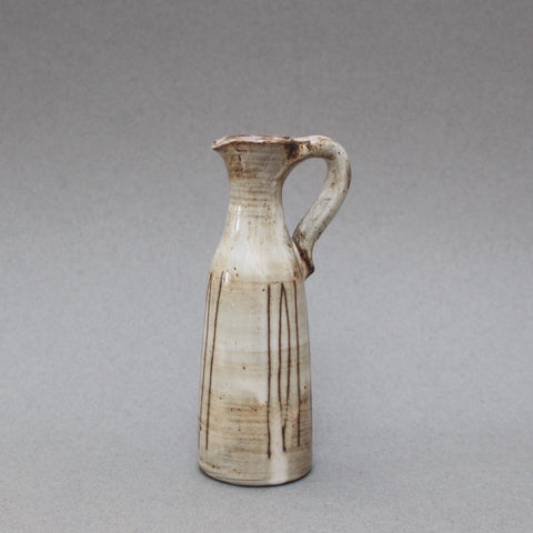 Small Ceramic Jug with Handle by Jacques Pouchain (c. 1960s)