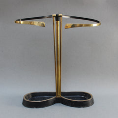 Brass and Cast Iron Umbrella Stand (c. 1950s)