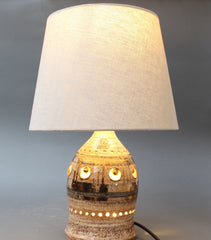 Ceramic Table Lamp by Georges Pelletier (circa 1970s)