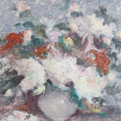 'Still Life Bouquet of Flowers' by Vernìere (circa 1930s - 40s)