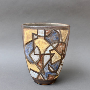 Ceramic Decorative Vase by Alexandre Kostanda (circa 1960s)