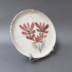 Mid-Century French Ceramic Decorative Plate by Gustave Reynaud - Le Mûrier (circa 1950s)