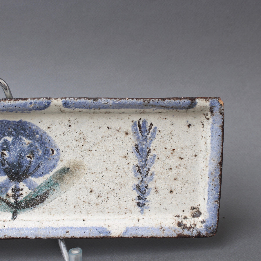 French Ceramic Tray by Gustave Reynaud - Le Mûrier (circa 1950s)
