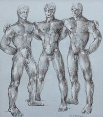 'Muscles, Muscles and More Muscles' by René Bolliger (circa 1960s)
