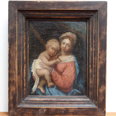 'Virgin with Child' (circa Late 18th / Early 19th Century)