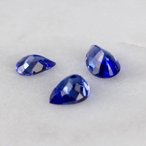 Three Tanzanite Stones