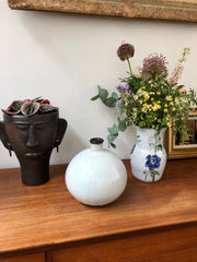 French Vintage Ceramic Vase (circa 1970s)