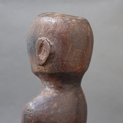 Wooden Carving / Sculpture of Standing Ancestral Figure from Timor, Indonesia (circa 1960s - 1970s)