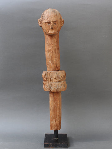 Wooden Carving of Protective Figure from Sumba Island, Indonesia (circa Mid-20th Century)