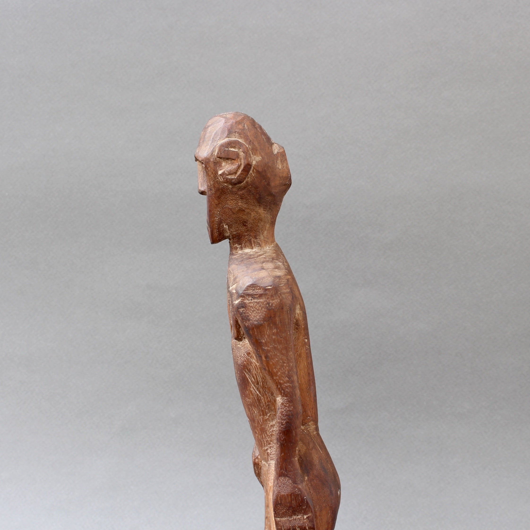 Wooden Sculpture / Carving of Standing Figure from Sumba Island, Indonesia (circa 1960s - 1970s)