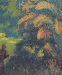 'Under the Palm Trees of Madagascar' by Paul Léon Bléger (circa 1930s)