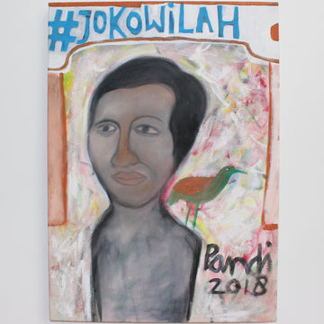 Portrait of Indonesian President Joko Widodo, by Pandi (2018)