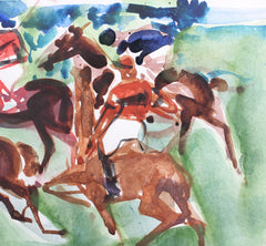 'The Polo Grounds' by Pierre Gaillardot (circa 1960s)