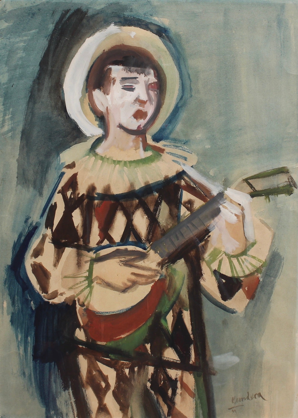 'The Harlequin' by Rudolf Kundera (1944)
