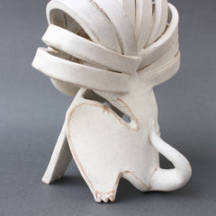 Ceramic Lion Sculpture by Bruno Gambone (circa 1980s)