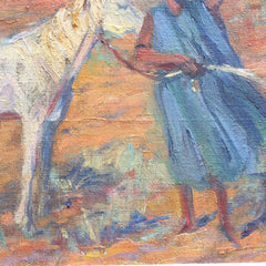 'The Horse and the Woman' by Lucien Madrassi (circa 1930s)