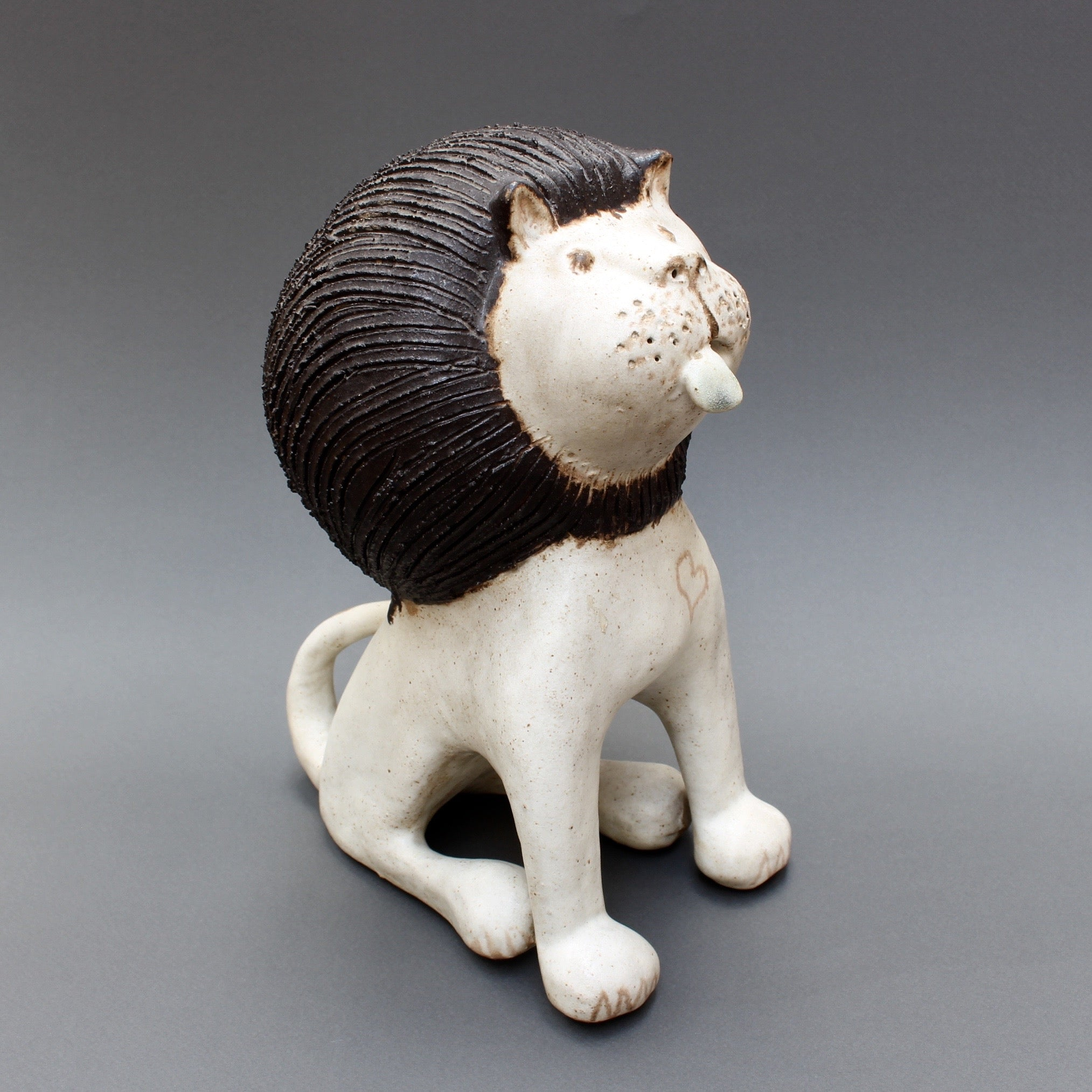 Ceramic Lion by Bruno Gambone (c. 1970s)